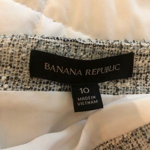 NWT Banana Republic Tweed Pencil Skirt